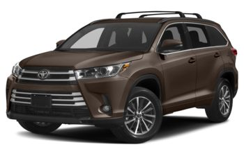 2019 Toyota Highlander - Toasted Walnut Pearl