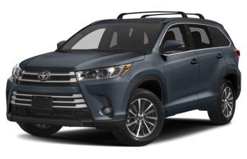 2017 Toyota Highlander - Shoreline Blue Pearl