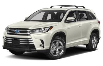 2019 Toyota Highlander Hybrid - Blizzard Pearl