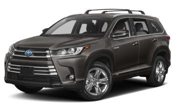 2019 Toyota Highlander Hybrid - Pre-Dawn Grey Mica