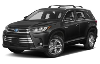 2019 Toyota Highlander Hybrid - Midnight Black Metallic