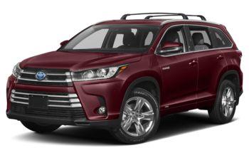 2019 Toyota Highlander Hybrid - Ooh La La Rouge Mica