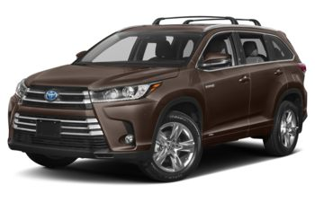 2017 Toyota Highlander Hybrid - Toasted Walnut Pearl