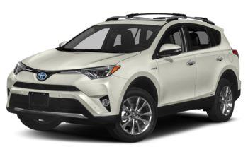 2018 Toyota RAV4 Hybrid - Blizzard Pearl