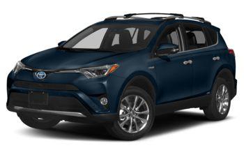 2018 Toyota RAV4 Hybrid - Galactic Aqua Mica