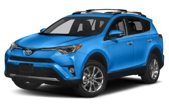 2018 Toyota RAV4 Hybrid - Electric Storm Blue