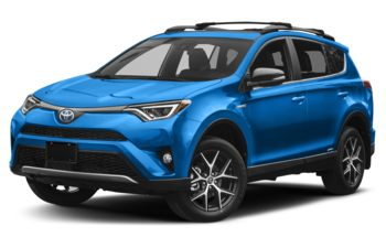 2018 Toyota RAV4 Hybrid - Electric Storm Blue