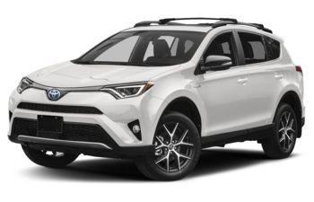 2018 Toyota RAV4 Hybrid - Alpine White