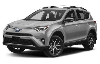 2018 Toyota RAV4 Hybrid - Silver Sky Metallic