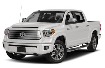 2017 Toyota Tundra - Alpine White