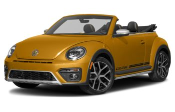 2017 Volkswagen Beetle - Pure White w/Black Roof