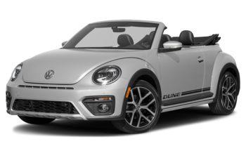 2018 Volkswagen Beetle - White Silver Metallic w/Black Roof