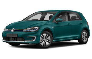2017 Volkswagen e-Golf - Peacock Green Metallic