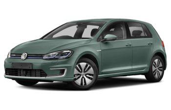 2017 Volkswagen e-Golf - Azure Blue Pearl