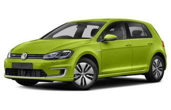 2017 Volkswagen e-Golf - Viper Green Metallic