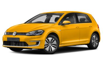2017 Volkswagen e-Golf - Ginster Yellow
