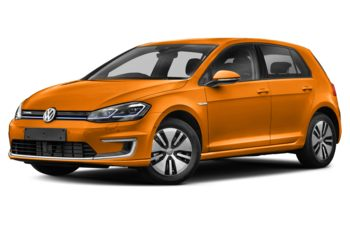 2017 Volkswagen e-Golf - Magma Orange