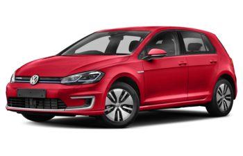 2017 Volkswagen e-Golf - Mars Red