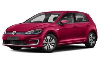 2017 Volkswagen e-Golf - Raspberry Red