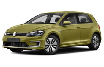 2017 Volkswagen e-Golf - Reseda Green
