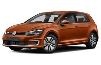 2017 Volkswagen e-Golf - Copper Orange Metallic