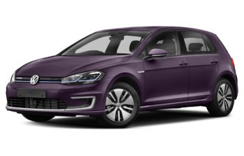 2017 Volkswagen e-Golf - Dark Violet Pearl