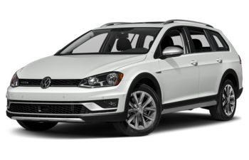 2017 Volkswagen Golf Alltrack - Pure White