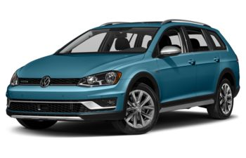 2017 Volkswagen Golf Alltrack - Silk Blue Metallic