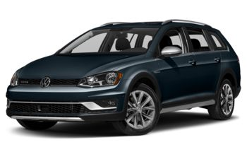 2017 Volkswagen Golf Alltrack - Night Blue Metallic