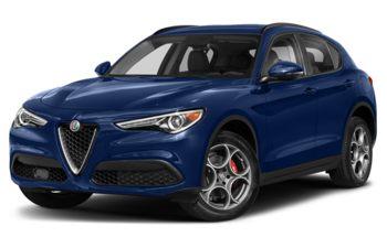 2021 Alfa Romeo Stelvio - Montecarlo Blue Metallic