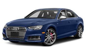 2018 Audi S4 - Navarra Blue Metallic