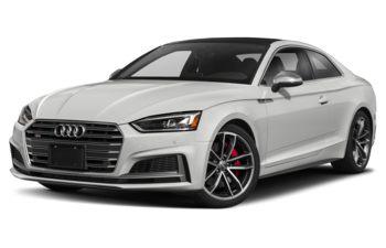 2019 Audi S5 - Glacier White Metallic