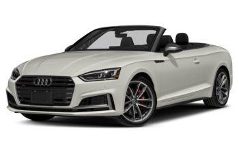 2018 Audi S5 - Ibis White/Red Top