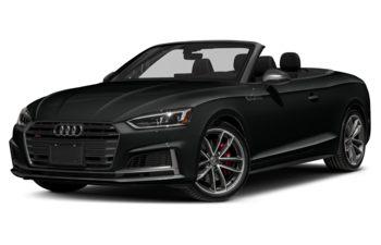 2018 Audi S5 - Mythos Black Metallic/Red Top