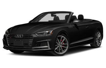 2018 Audi S5 - Brilliant Black/Red Top