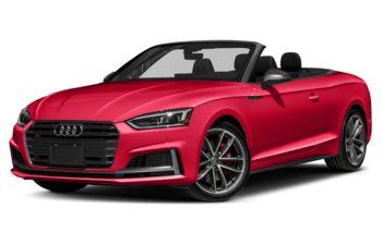 2018 Audi S5 - Misano Red Pearl/Black Top