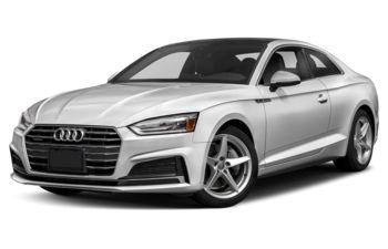 2018 Audi A5 - Glacier White Metallic