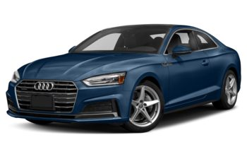 2018 Audi A5 - Scuba Blue Metallic