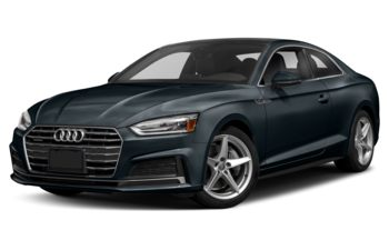 2018 Audi A5 - Moonlight Blue Metallic