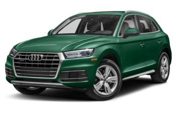 2018 Audi Q5 - Azorean Green Metallic