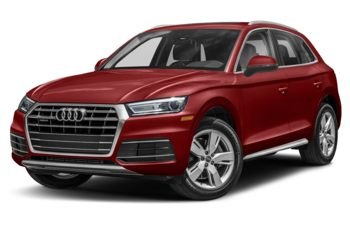 2018 Audi Q5 - Matador Red Metallic