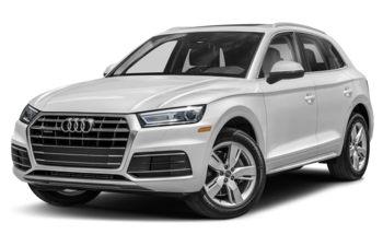 2020 Audi Q5 - Glacier White Metallic
