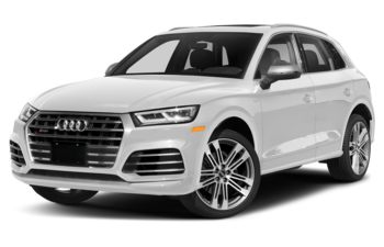 2021 Audi SQ5 - Glacier White Metallic