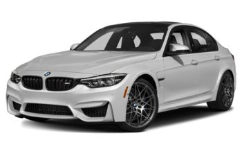 2018 BMW M3 - Mineral White Metallic