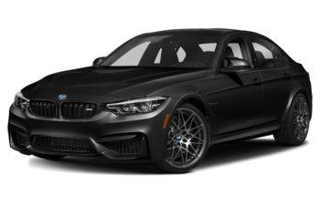 2018 BMW M3 - Black Sapphire Metallic