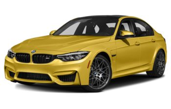2018 BMW M3 - Austin Yellow Metallic