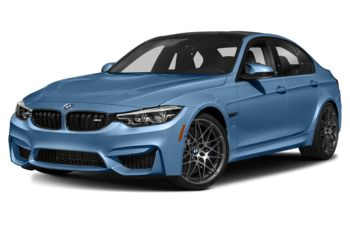 2018 BMW M3 - Yas Marina Blue Metallic