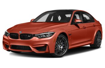 2018 BMW M3 - Sakhir Orange II Metallic
