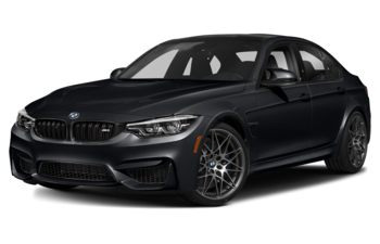 2018 BMW M3 - Azurite Black Metallic