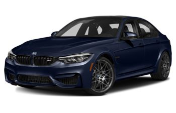2018 BMW M3 - Tanzanite Blue Metallic